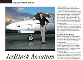 JetBlack featured in World Aircraft Sales Magazine