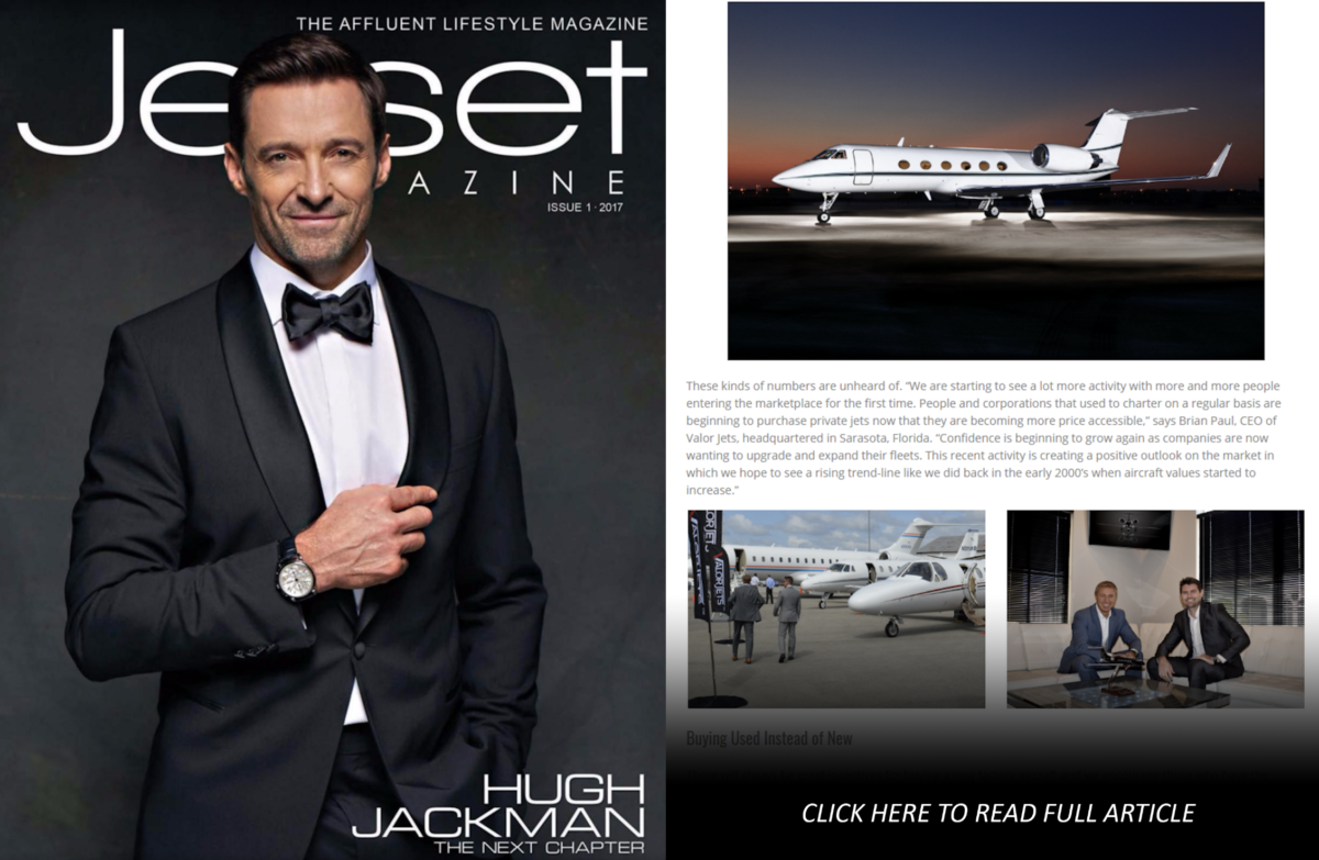Jetset Magazine Featured Article