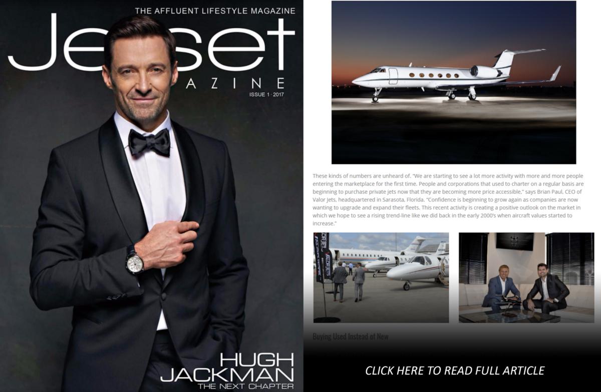 Jetset Magazine Featured Article